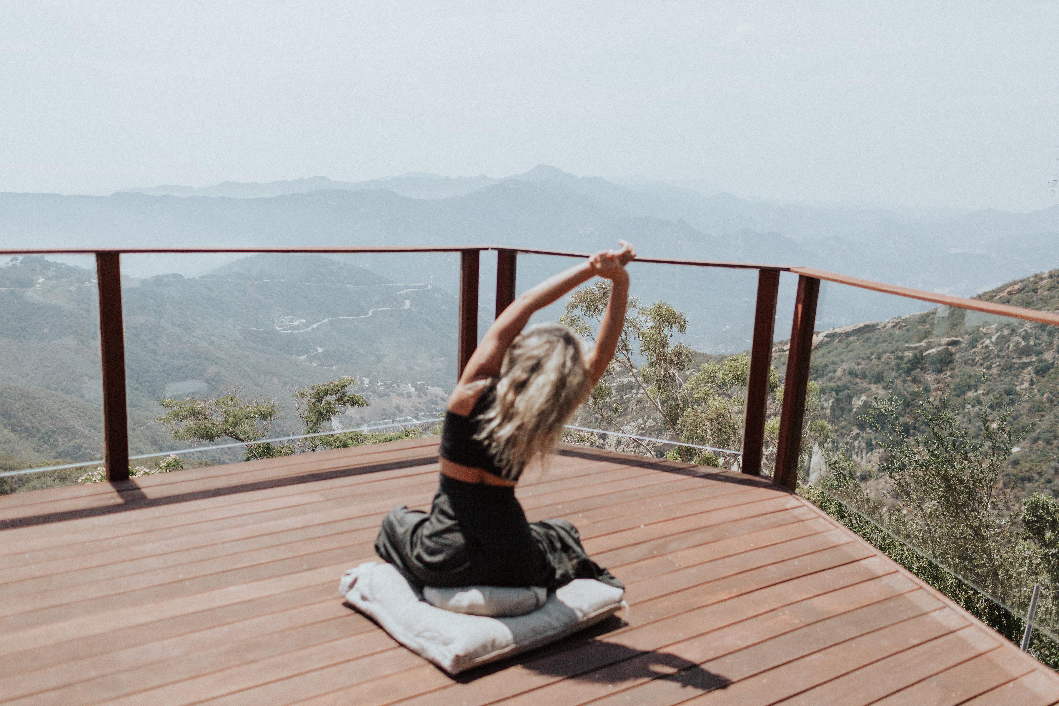 why you should go outside, get outside, health, wellness, malibu, beach house, yoga, meditation
