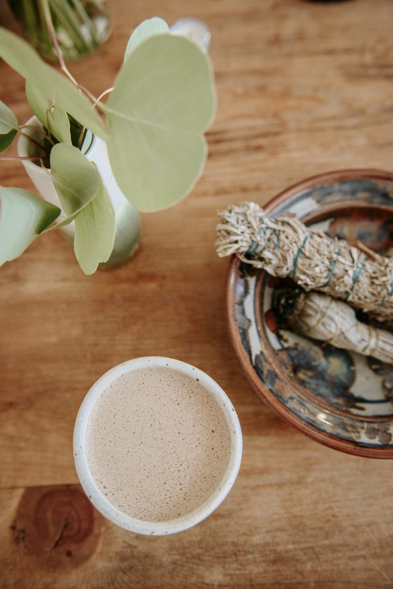 morning coffee, morning coffee boosts, mug, palo santo
