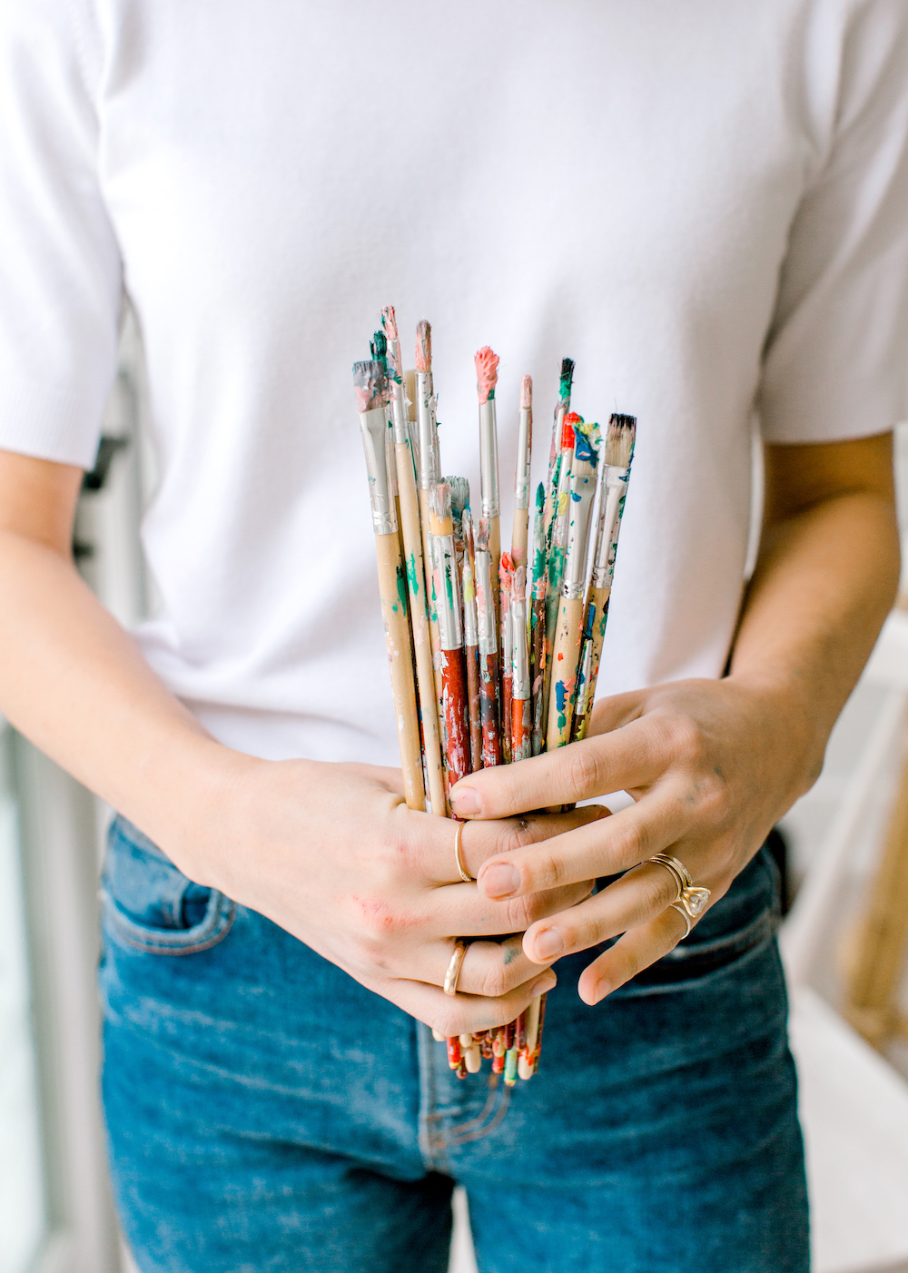beautiful paint brushes