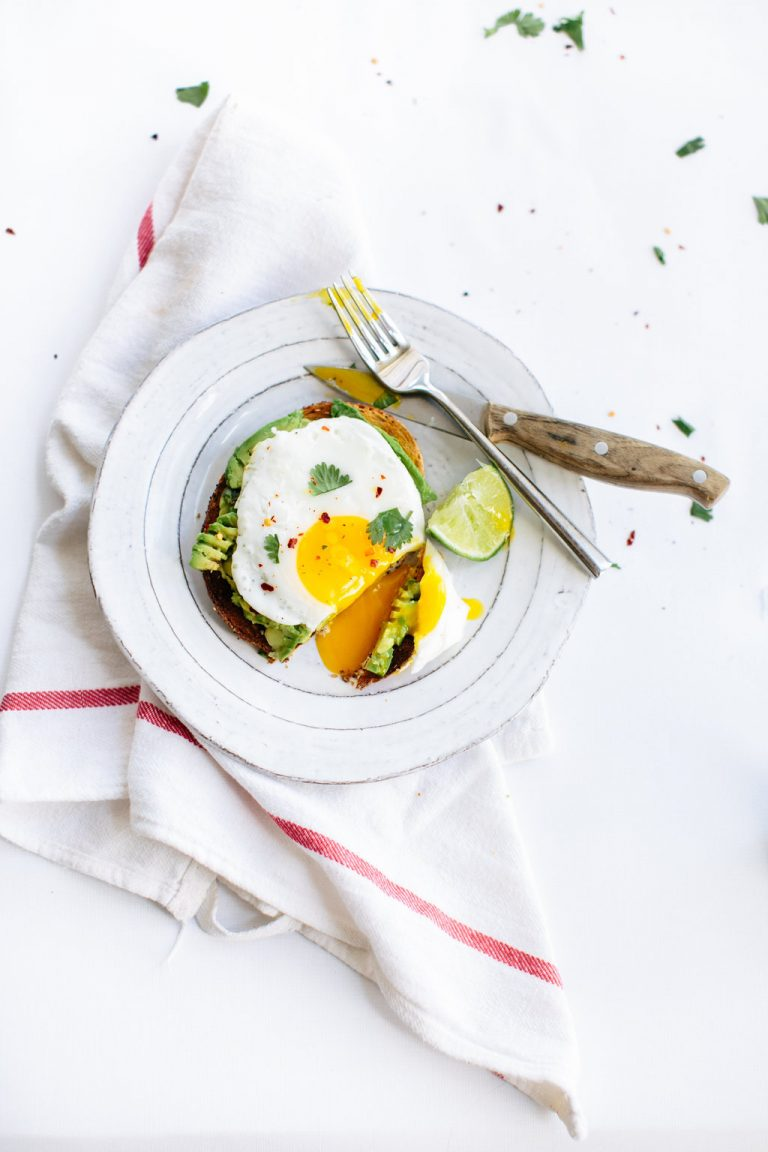 jammy eggs , avocado, healthy breakfast
