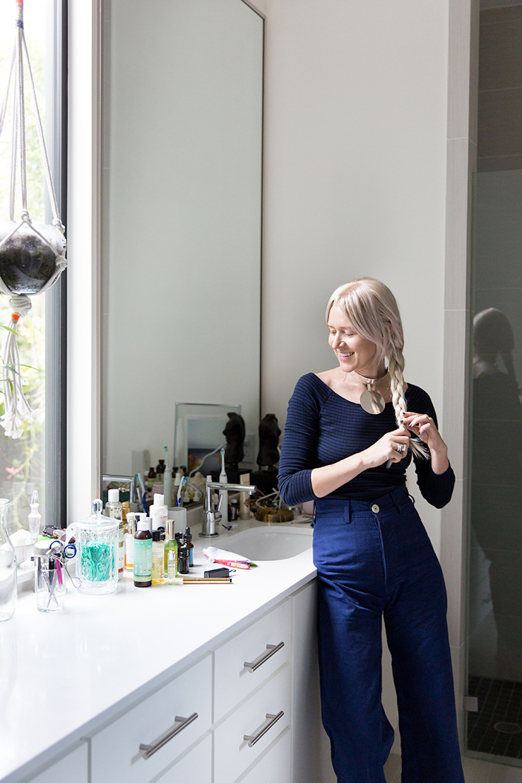 beauty, getting ready, bathroom, makeup, bath products