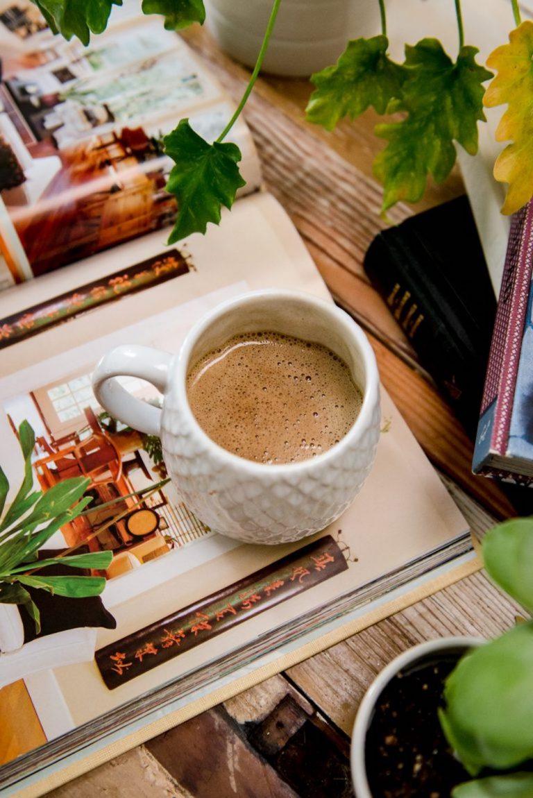 morning coffee, cute mug, lazy sunday morning