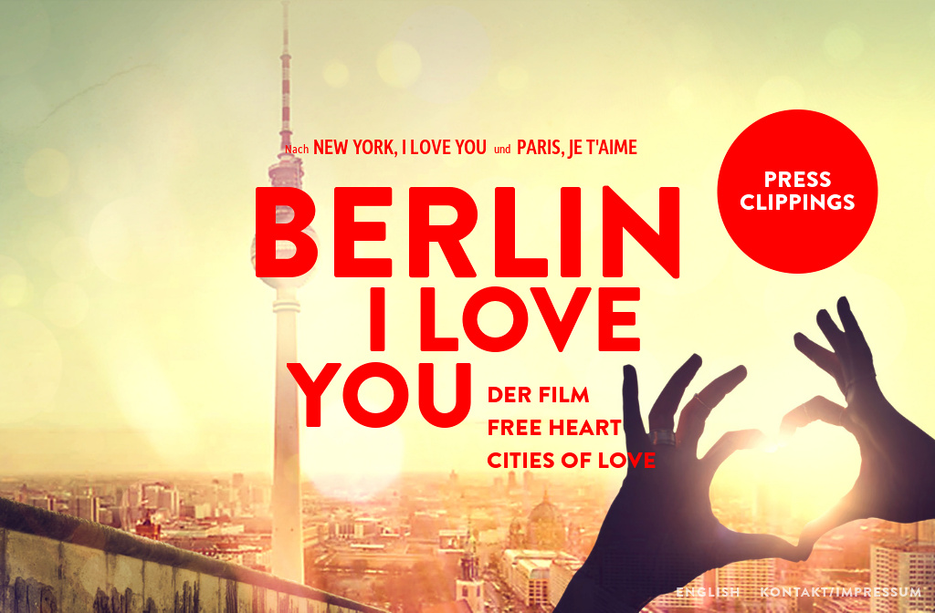 "Watch Berlin, I Love You when it premieres in select theaters on February 8th. This is the latest installment in the ""Cities of Love"" created by Emmanuel Benbihy (Paris, Je T'aime, New York, I Love You, Rio, Eu Te Amo). The ensemble cast features Helen Mirren, Diego Luna, and Keira Knightly among others."