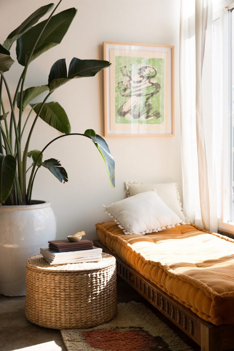 sunroom, day bed, natural light