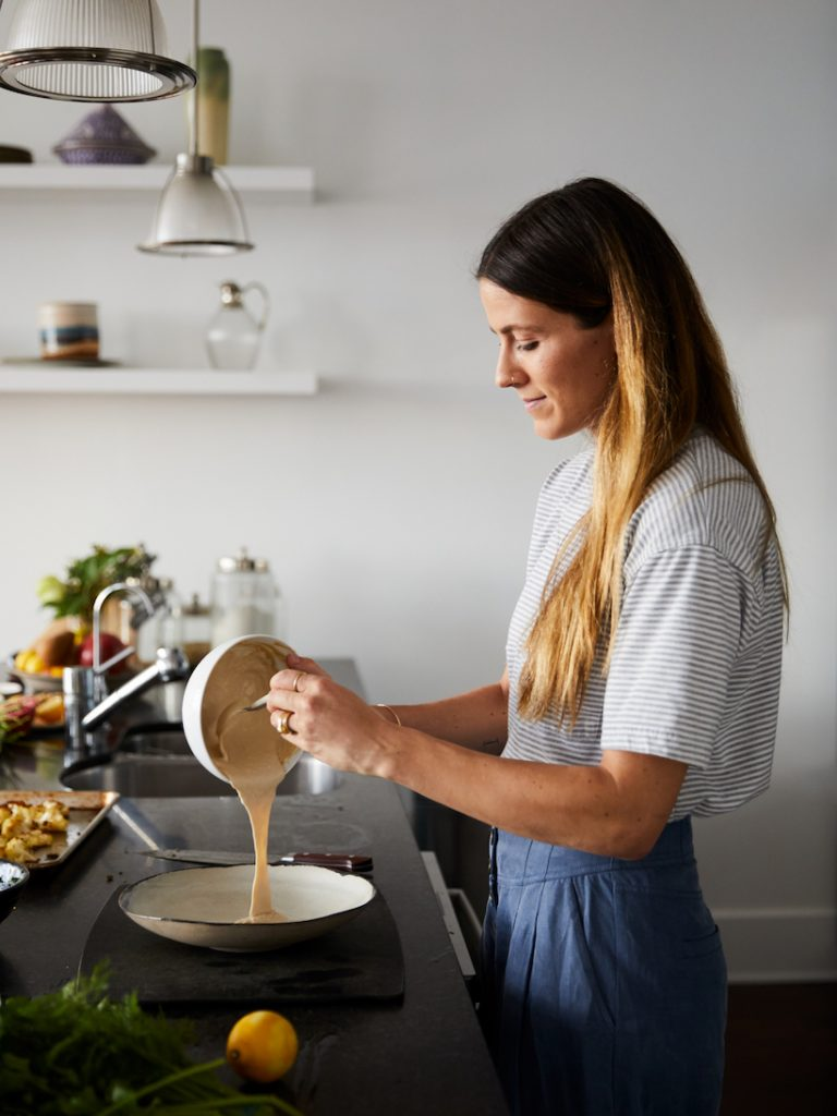 eden grinshpan in her NY kitchen