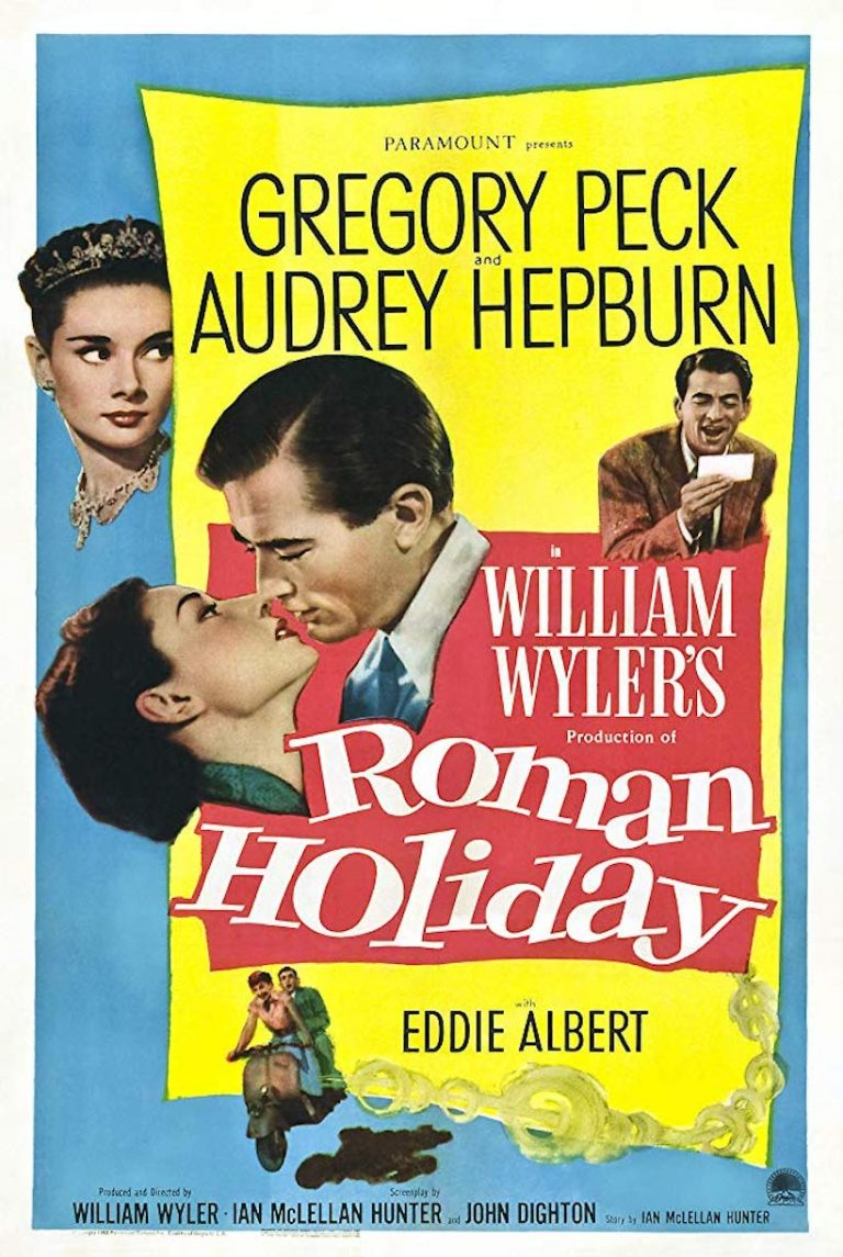 roman holiday, best movies to watch on valentine's day