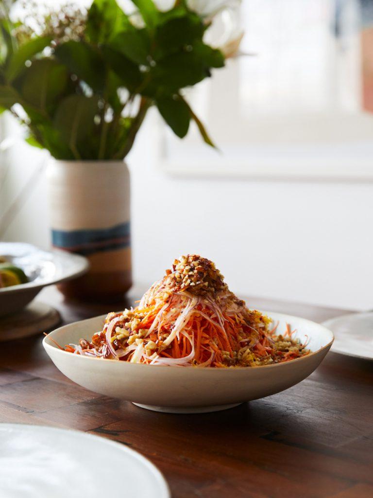 Raw Carrot Salad recipe
