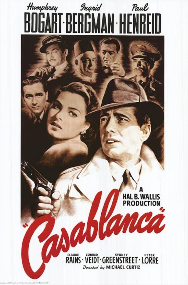 casablanca, best movies to watch on valentine's day