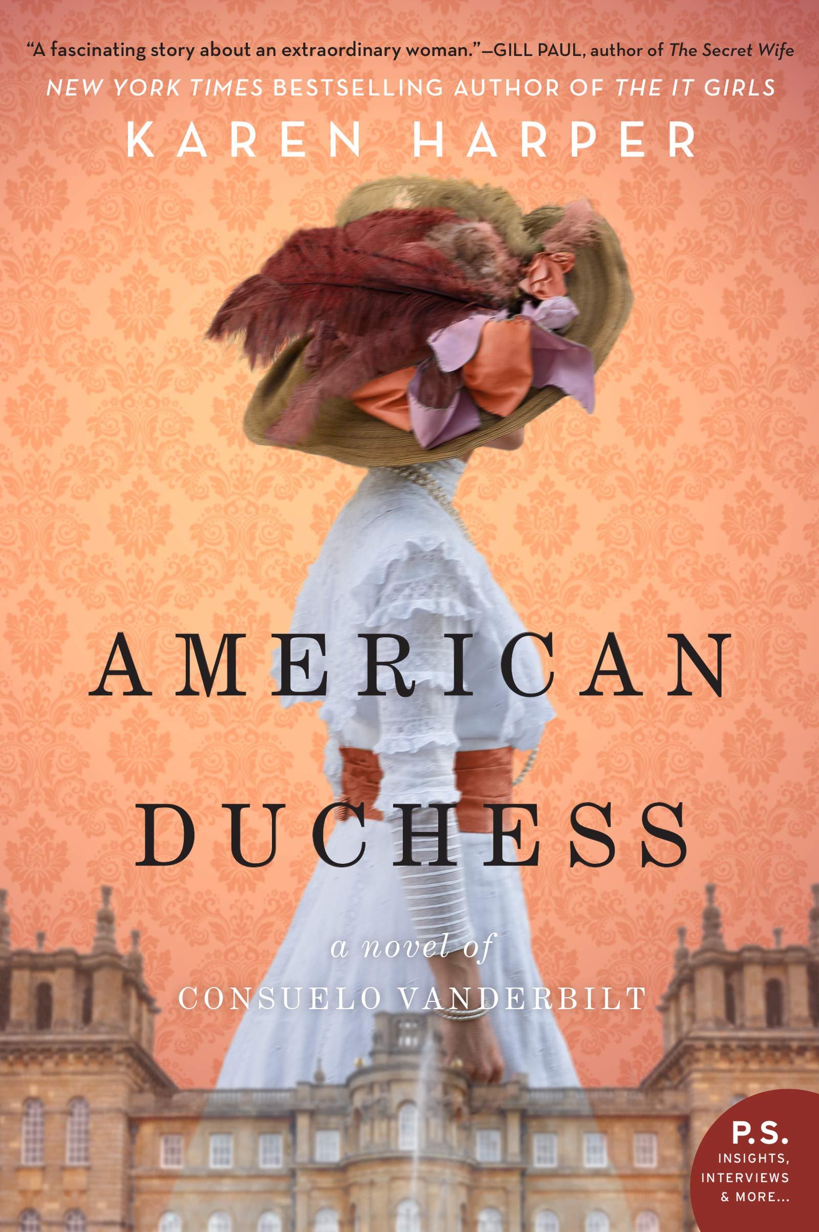 Read the newest historical novel by Karen Harper, American Duchess, about the fascinating life of Consuelo Vanderbilt (will be released Feb. 26th).