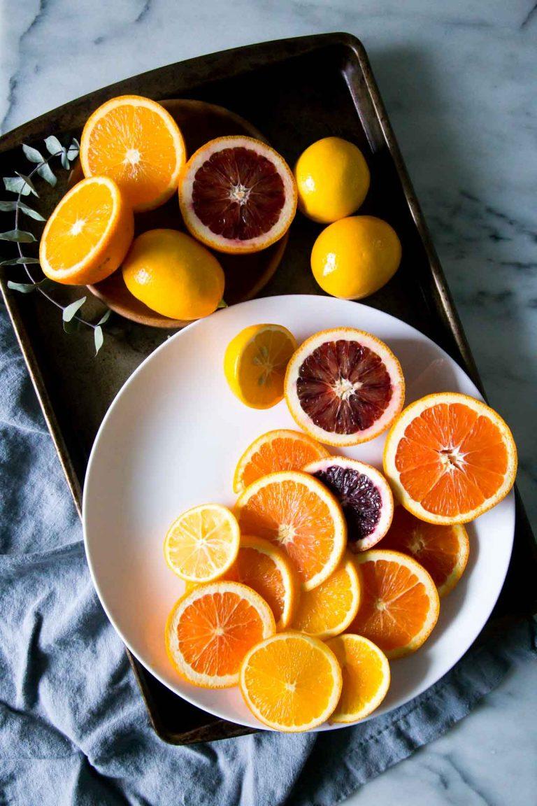 ombre citrus cake, perfect cake for spring, spring dessert, spring entertaining