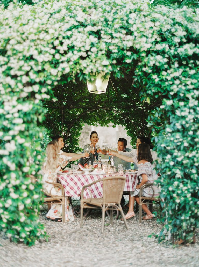 A Dreamy Dinner Party at a Villa in Lucca