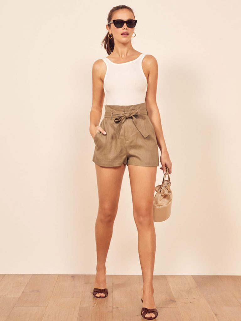Reformation rossi shorts