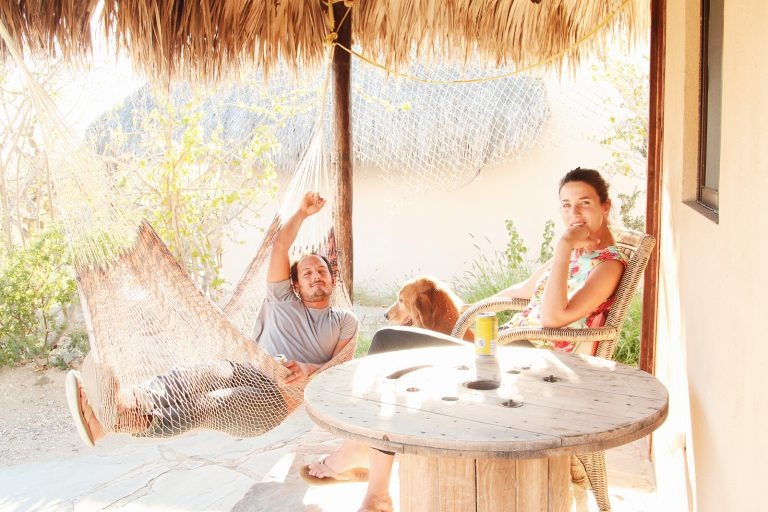 This Couple's Open Air Home is the Coolest Hangout in Baja