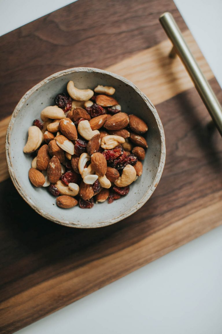 Trail Mix, nuts, healthy snacks