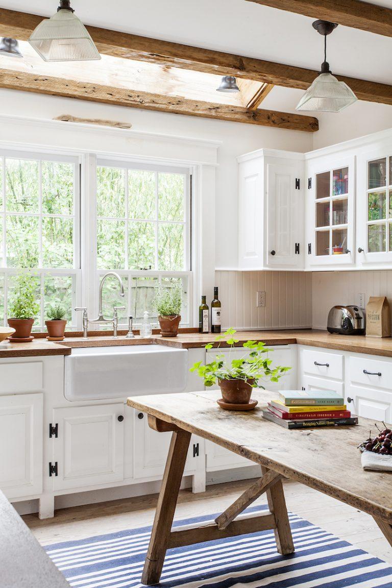 beach house, home decorating, kitchen, dreamy beachy decor kitchen