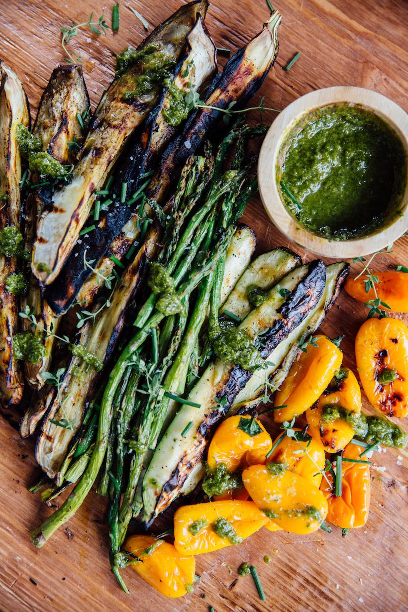 perfect grilled veggies recipe