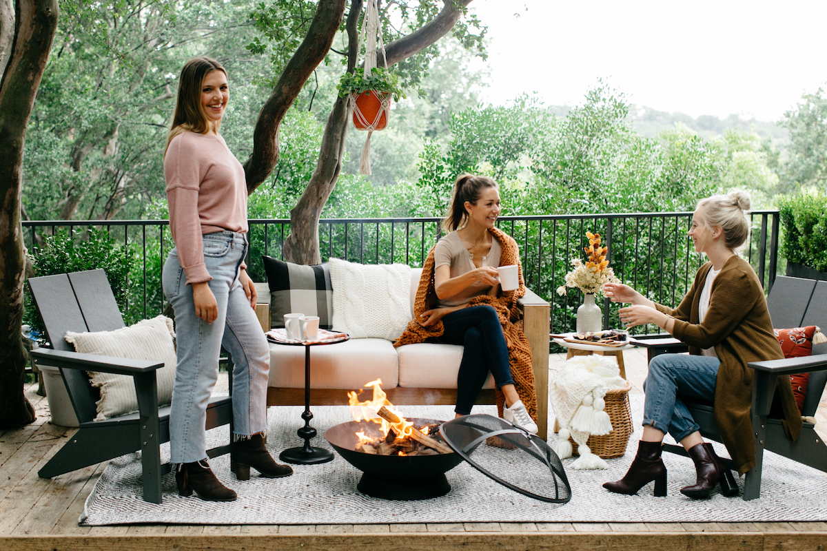 casual fall get together