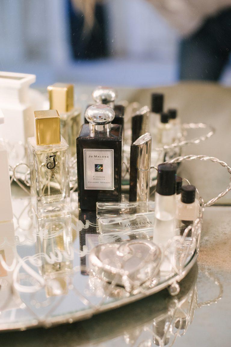 perfume, products, bathroom, vanity