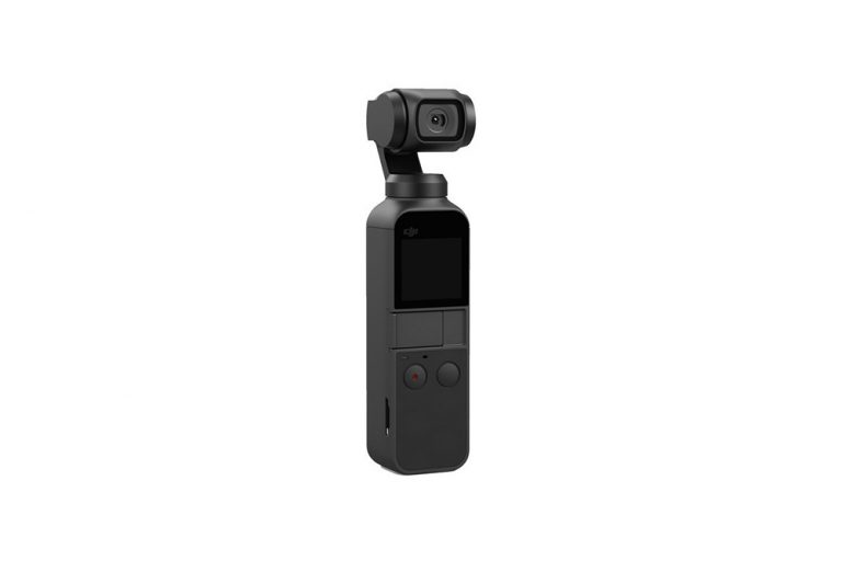 DJI Osmo Pocket The DJI Pocket is an all-in-one gimbal/camera system that can literally fit in your pocket. You'll be amazed at the quality of video footage you can get from this tiny device!