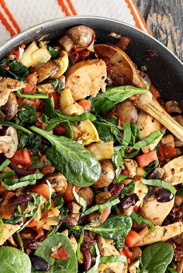one pot paleo skillet chicken from paleo newbie