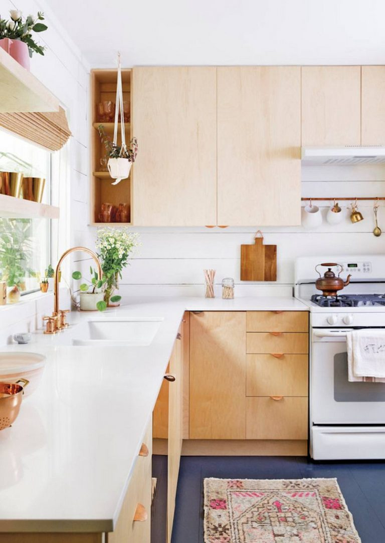 8 Kitchens That Made Us Obsessed With Plywood Cabinets