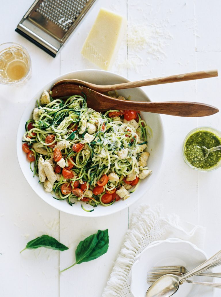 zucchini noodle pasta camille styles