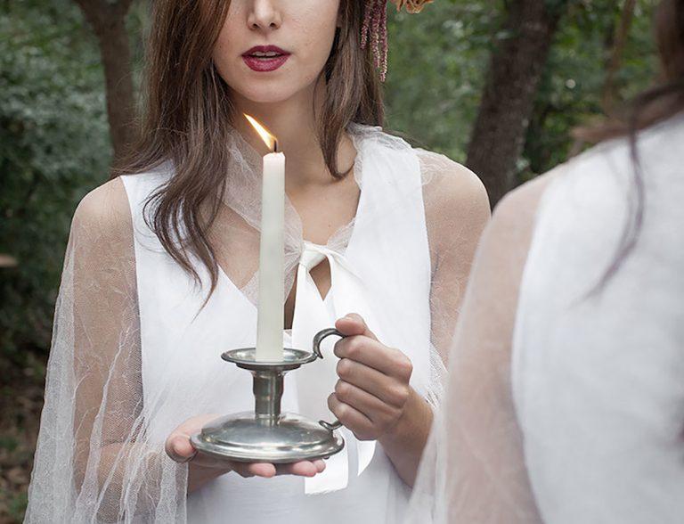 Vuélvete loco con las velas.