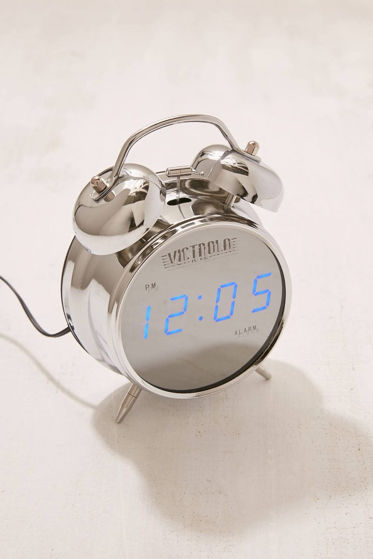 11 Cute Alarm Clocks You Ll Actually Want On Your Nightstand Camille Styles