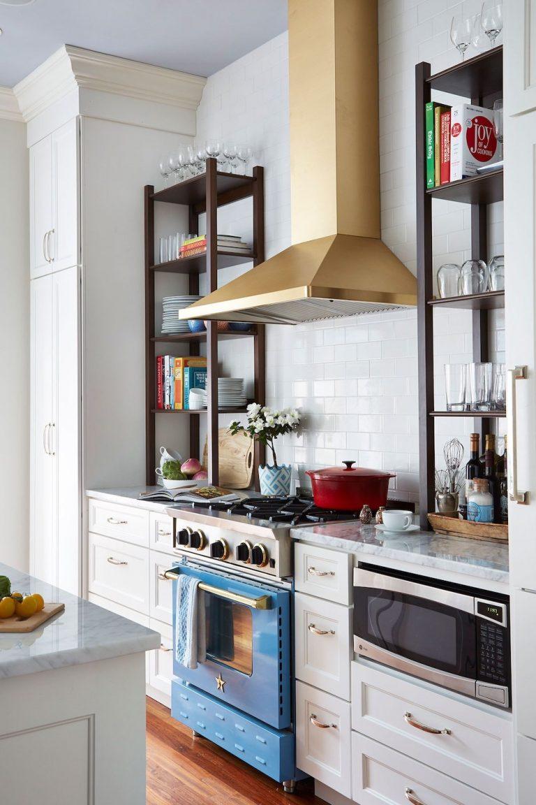 kitchens where appliances stole the show