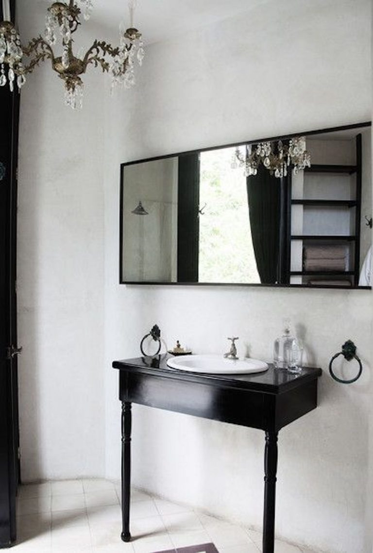 best black and white interior spaces