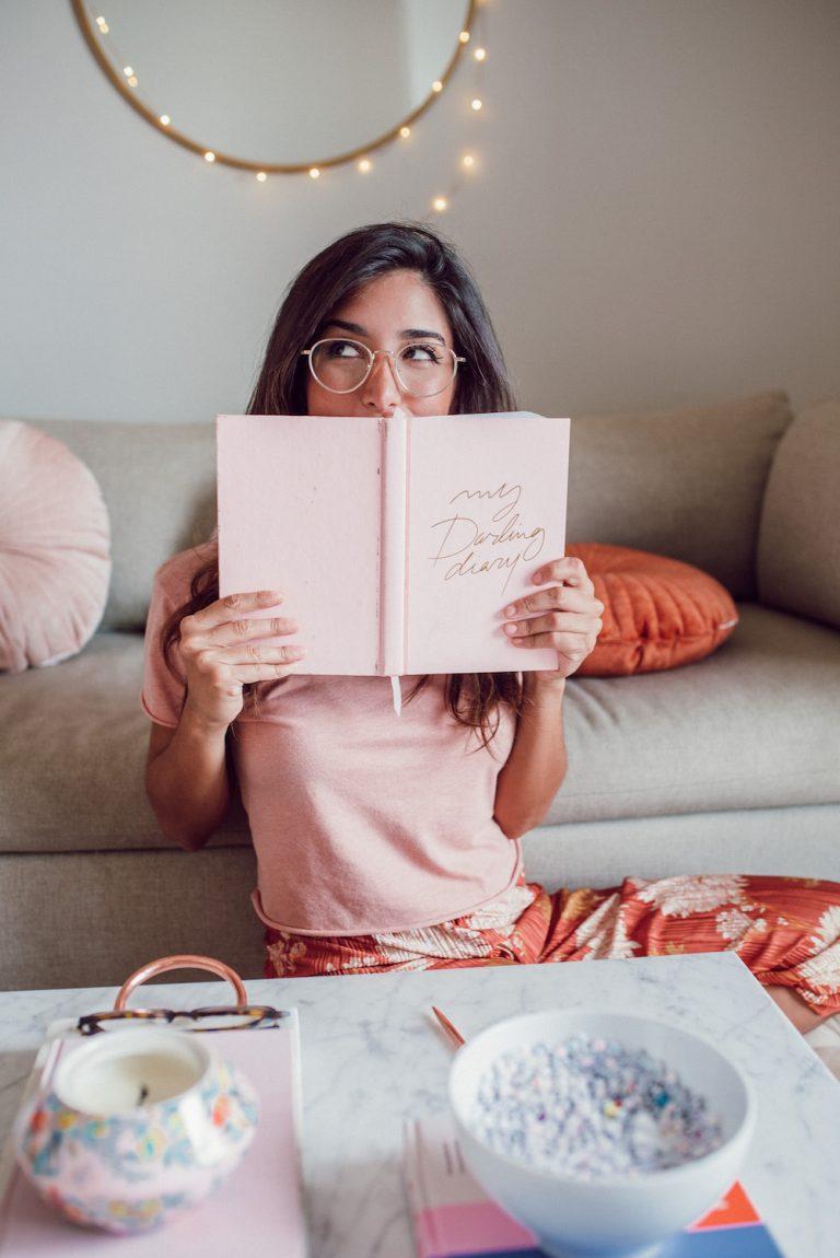 jessi afshin's darling diary morning journaling