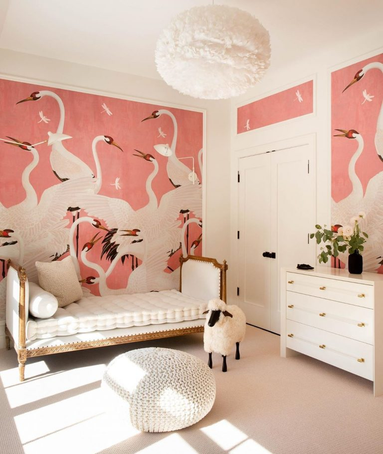 This Jaw Dropping Nursery Has The Prettiest Wallpaper We Ve