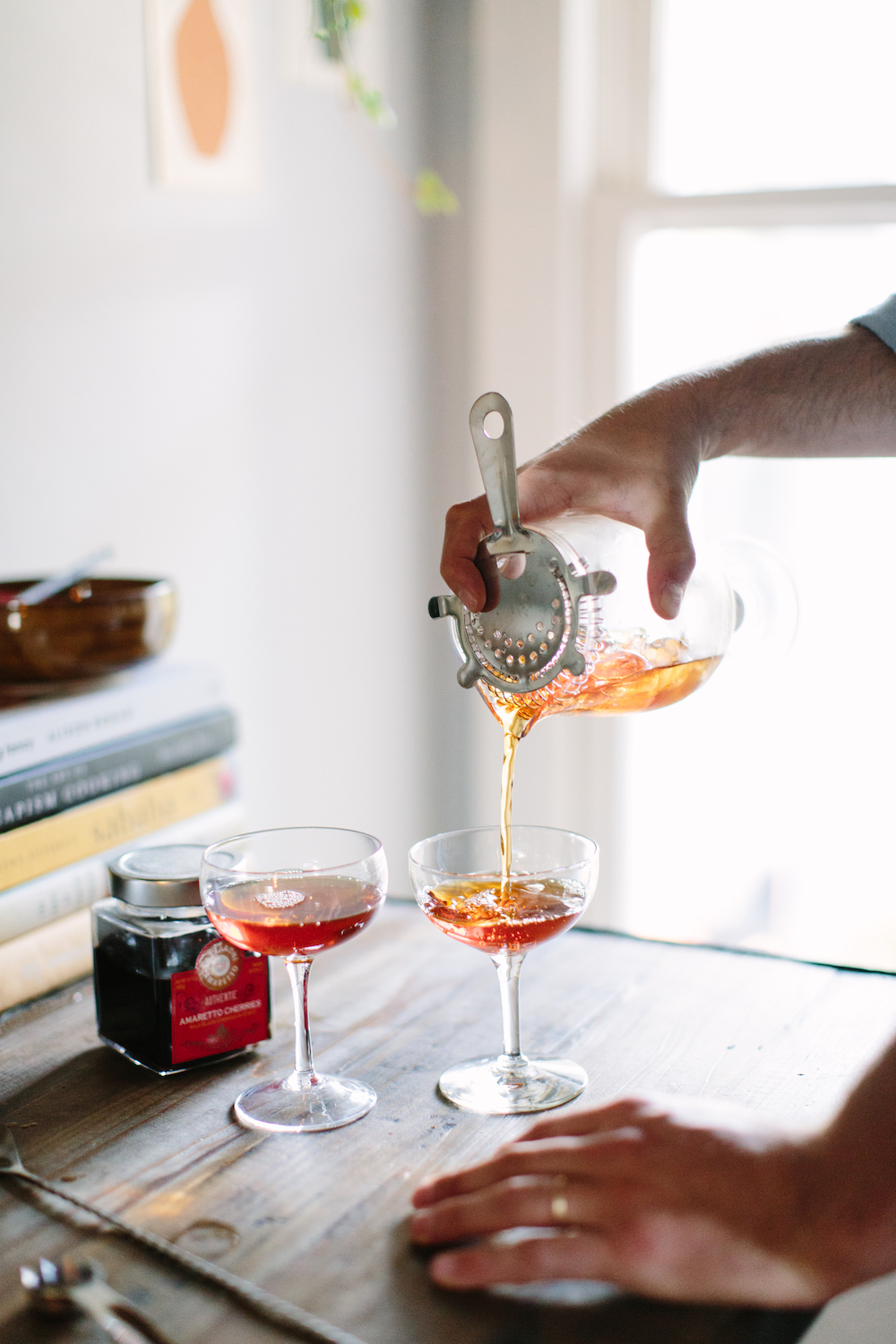 dinner party cocktails