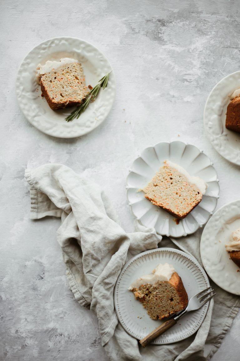 Chai Spiced Carrot Cake