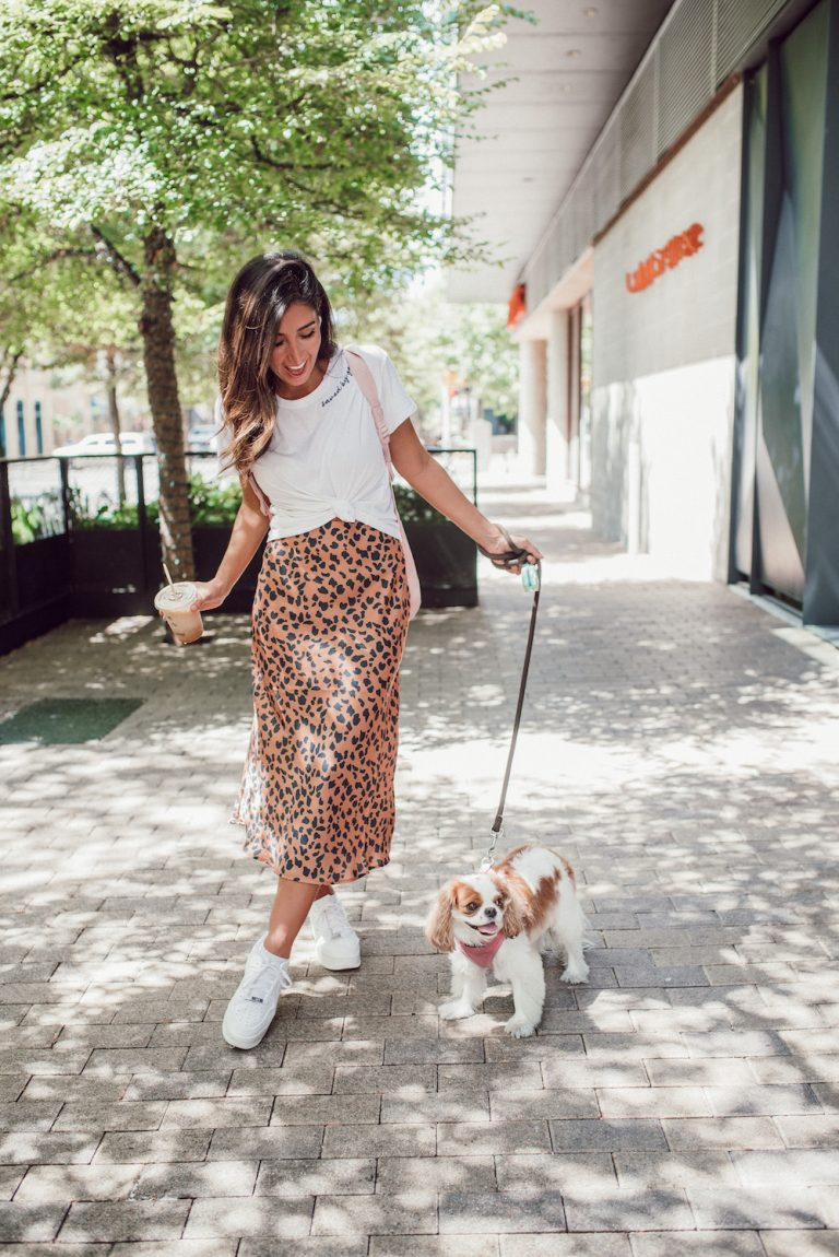 jessi afshin's personal style with her dog chloe