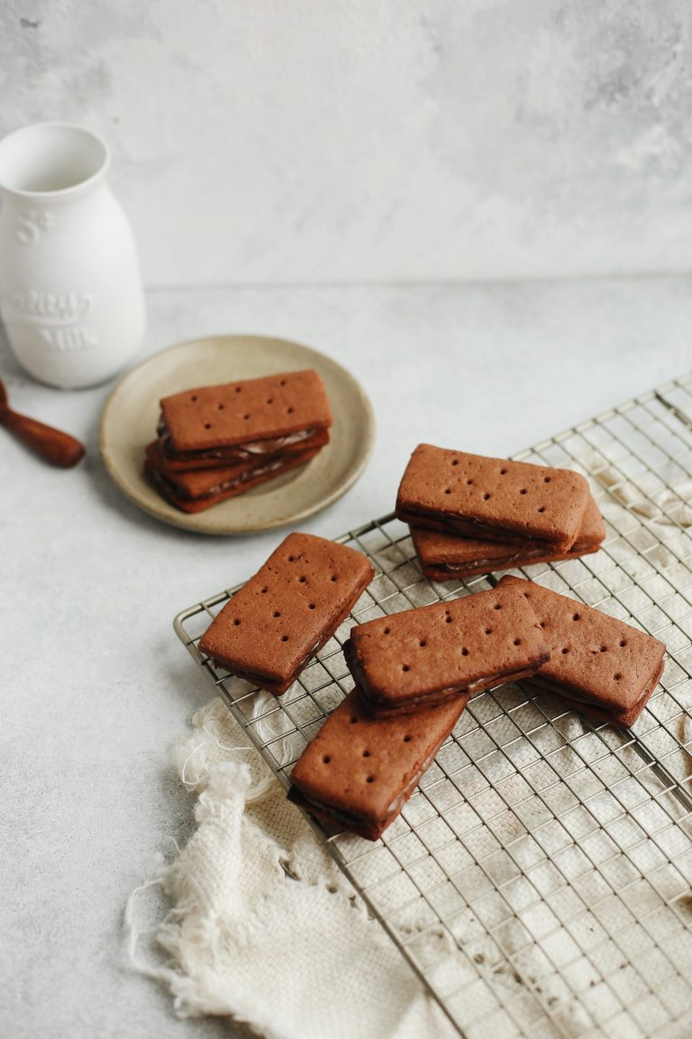 These Bourbon biscuits, sandwich cookies are now I've been craving this season