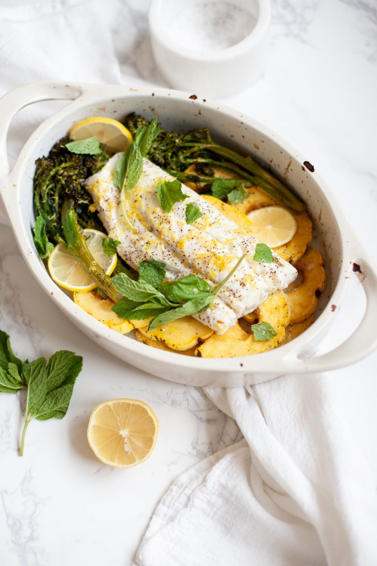CS Cleanse, Slow Roasted Cod