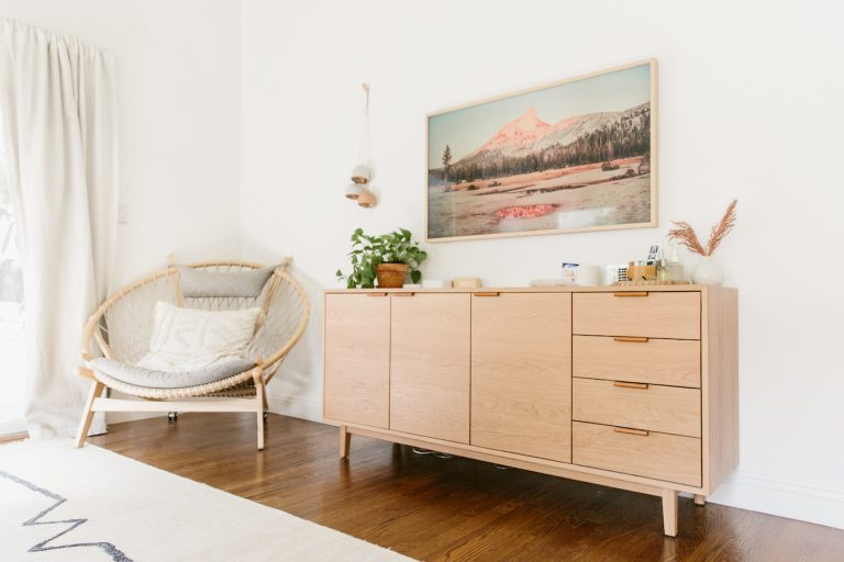Decorate to rent a flat
