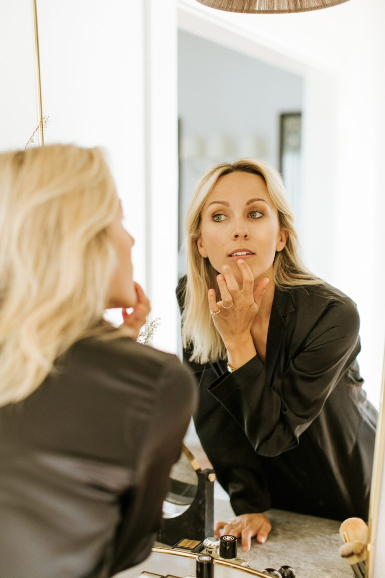 Jacey Duprie's beauty and skincare routine