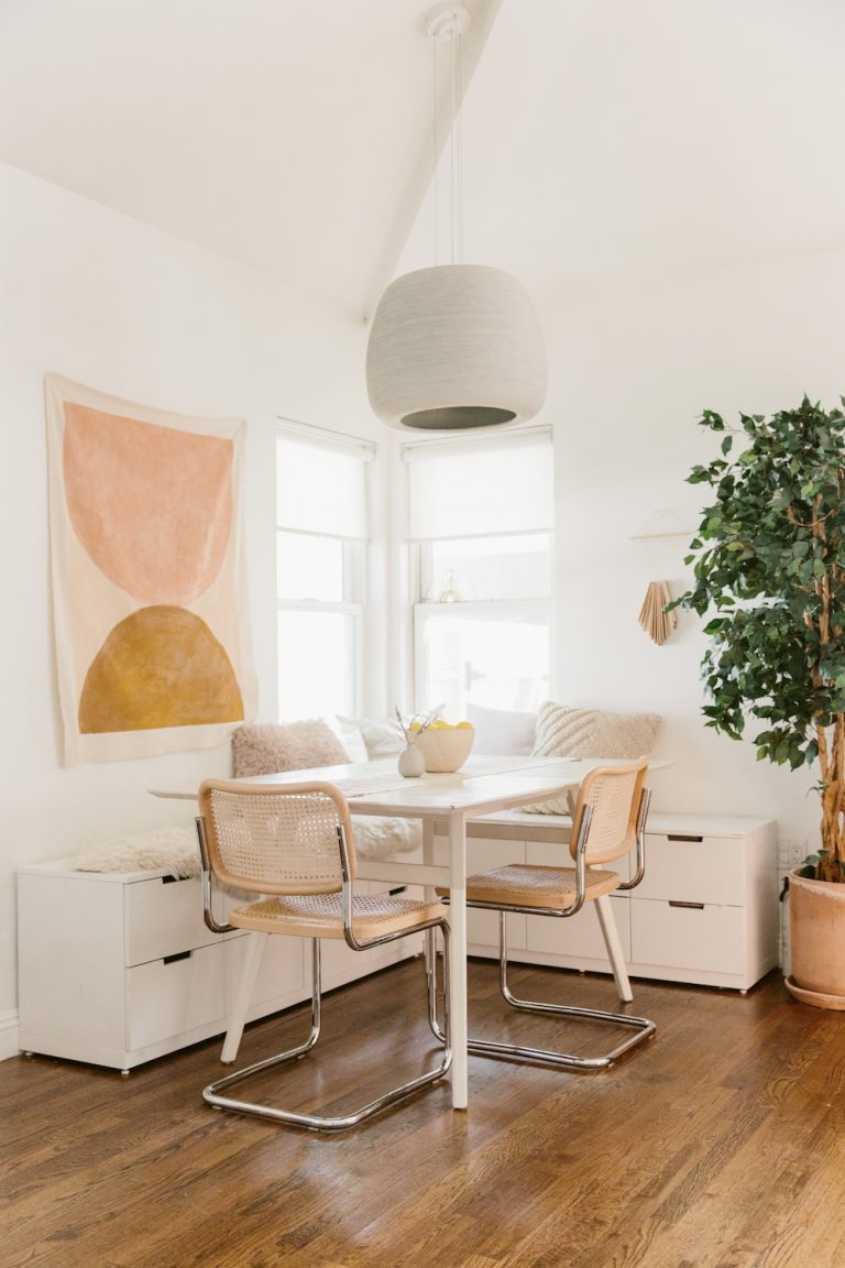 Neutral and timeless decor