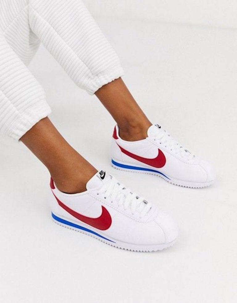 Nike Classic Cortez Sneaker, retro nike sneakers, sneakers for spring, cool sneakers