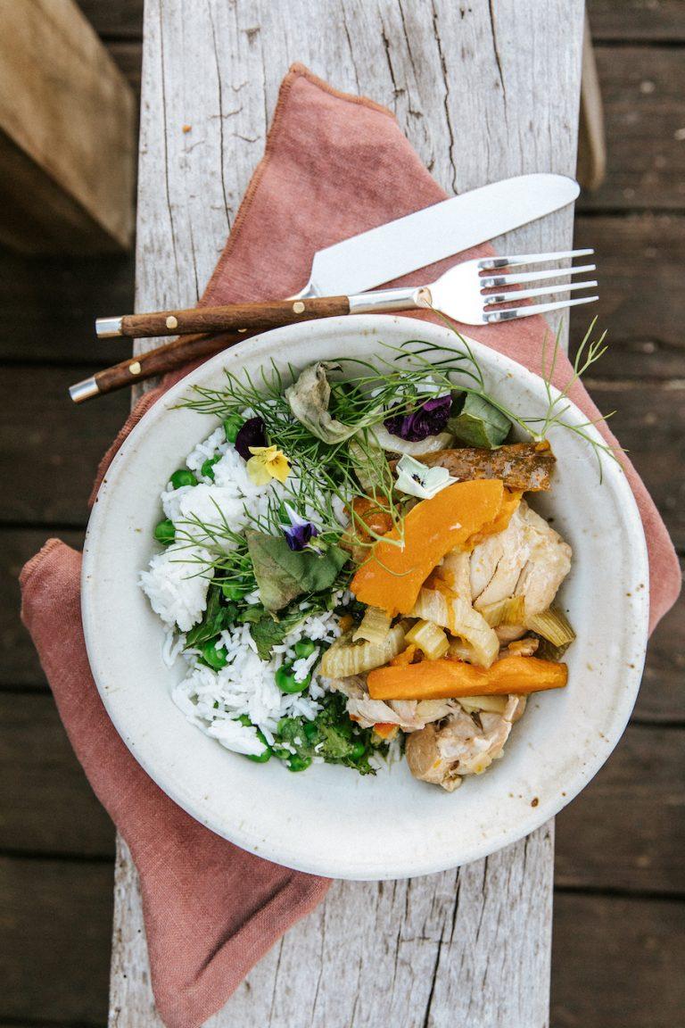 Chicken Fire Stew Recipe with Butternut Squash
