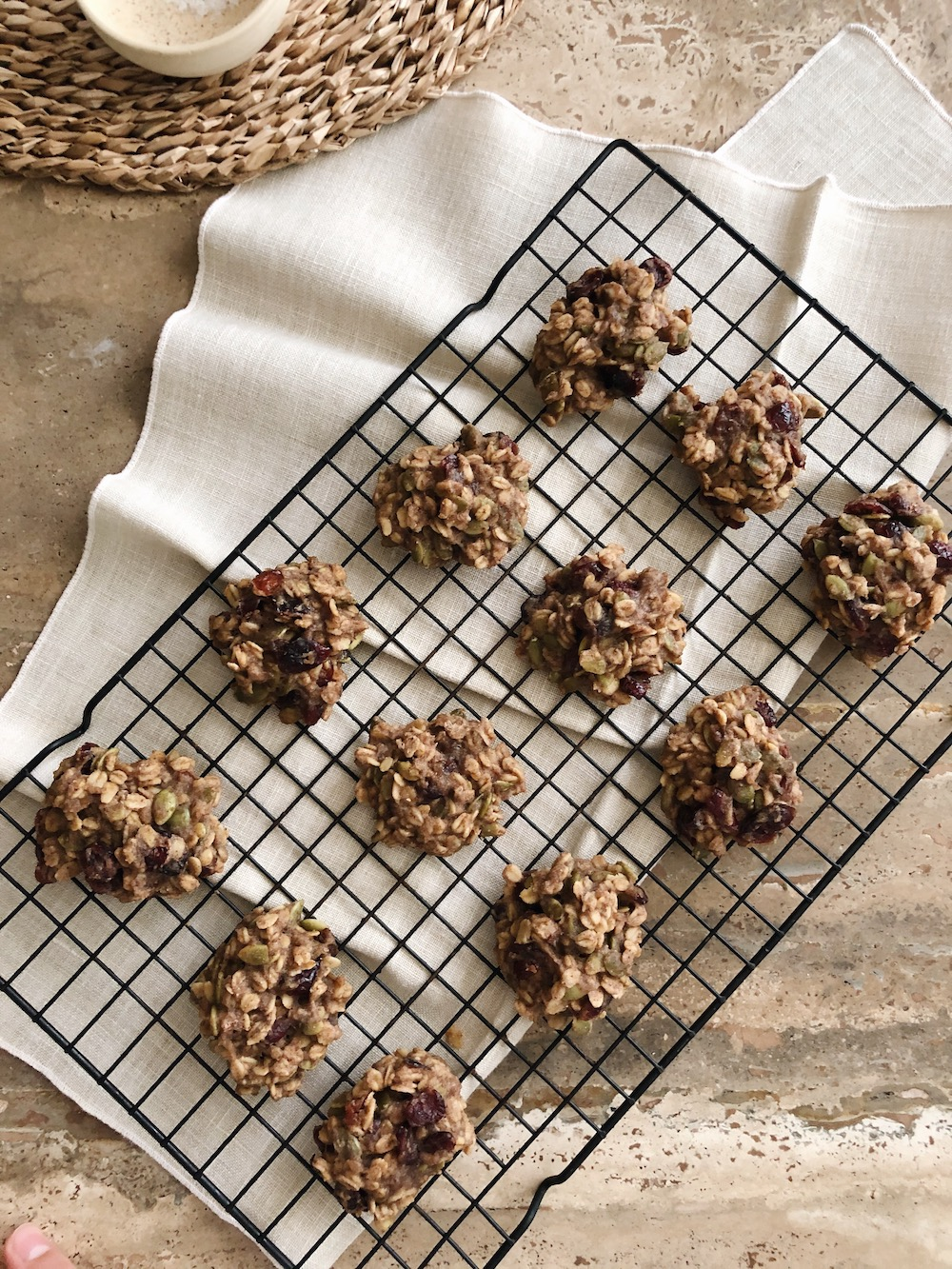 healthy cookies baked baking easy recipe superfood oats