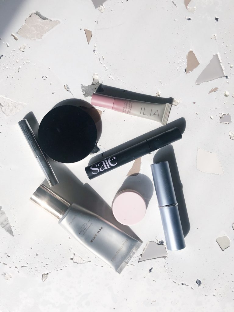 beleza limpa, maquiagem