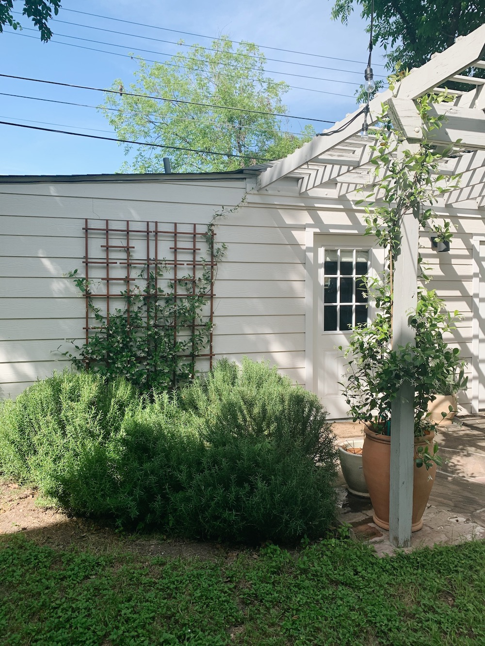 austin texas home garden classic cottage landscaping plants