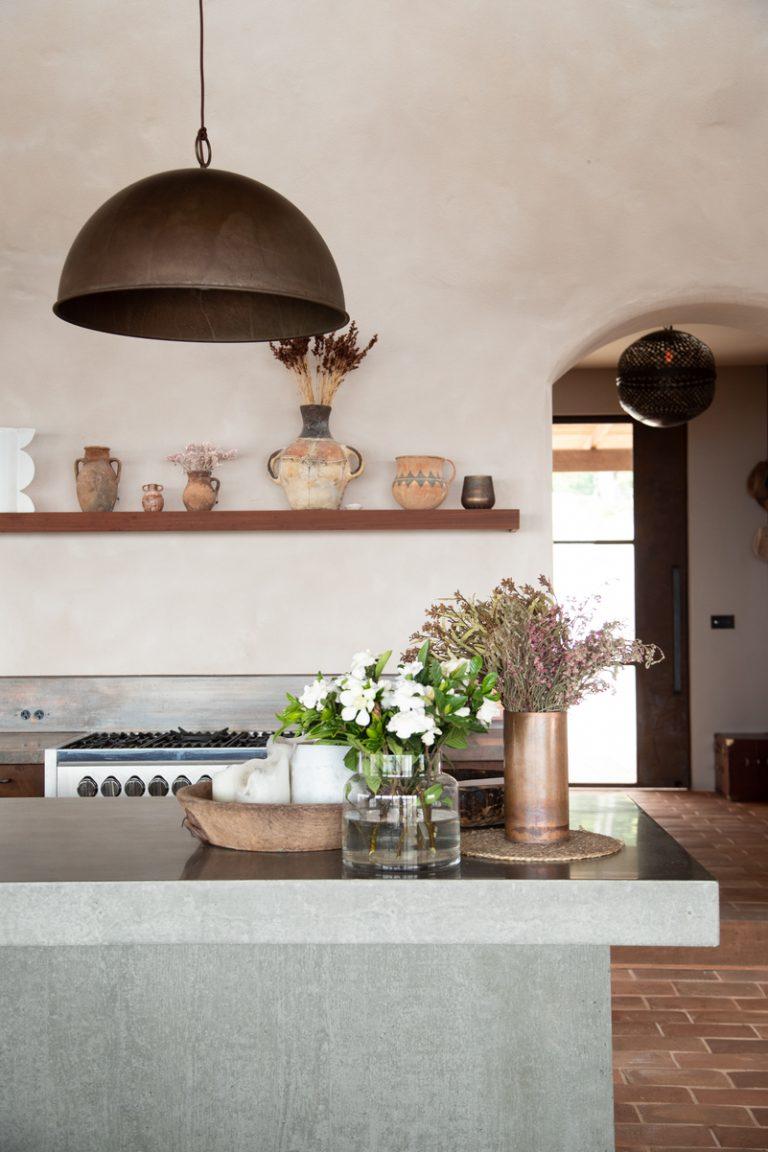 emma lane kitchen with concrete countertops in australia