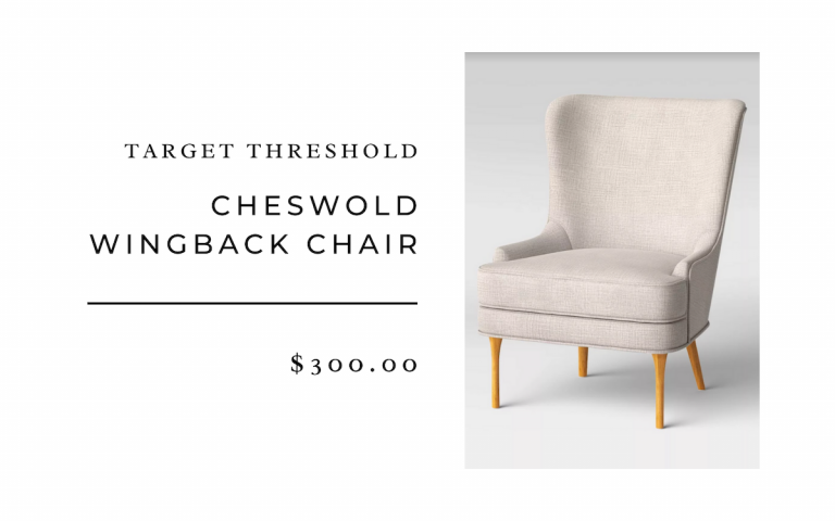 Target Threshold Cheswold Wingback Chair