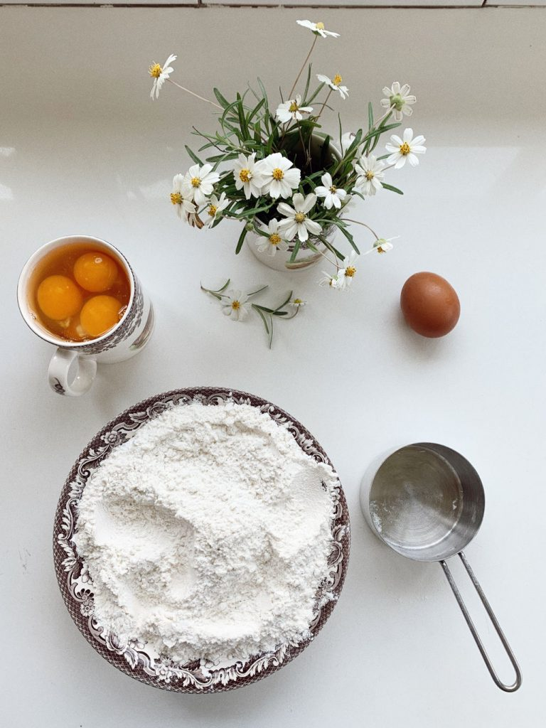 ingredients for fresh ricotta for fresh lemons for Lemon Ricotta Pound Cake Recipe is the perfect weekend baking project
