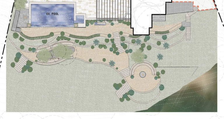 camille styles backyard landscape design plan