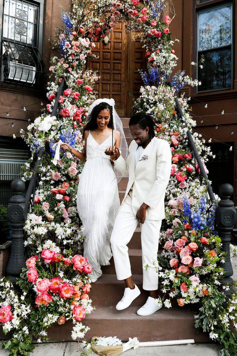 O casamento de Elaine Welteroth no Brooklyn não foi nada menos do que mágica 1